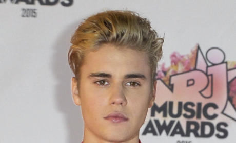 Justin Bieber at Music Awards