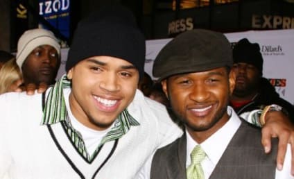 Usher to Chris Brown: Don't Be a D!ck
