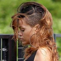 Rihanna on Her Birthday