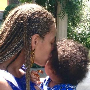 Beyonce and Blue Ivy Photo
