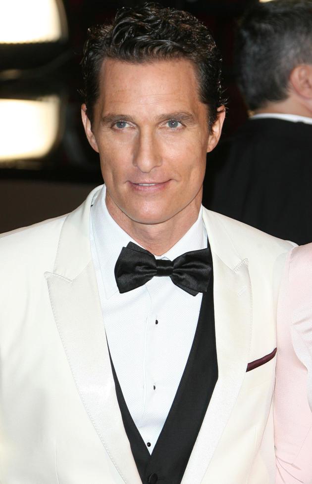 Matthew McConaughey at the Oscars