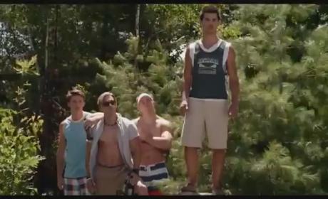 Grown Ups 2 Clip: Taylor Lautner's Handshake
