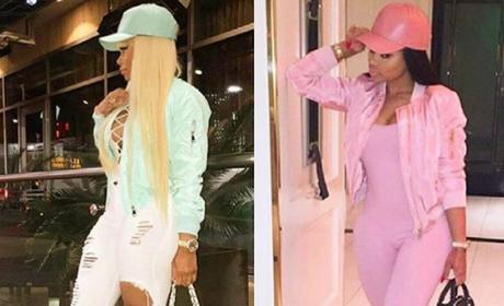 Blac Chyna Shows Off Expensive Bags