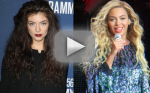 Lorde Disses Beyonce