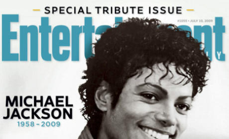 Entertainment Weekly Unveils Four Michael Jackson Covers