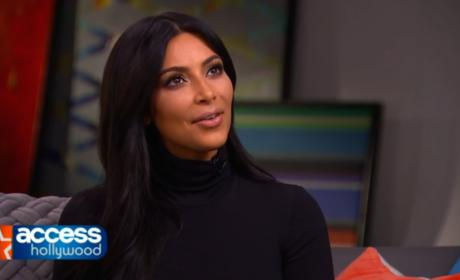 Kim Kardashian on Kanye: I Made the First Move!
