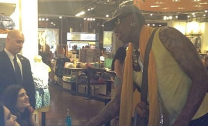 THG Caption Contest: Rodman, Jenner Sisters Kick it in OC!