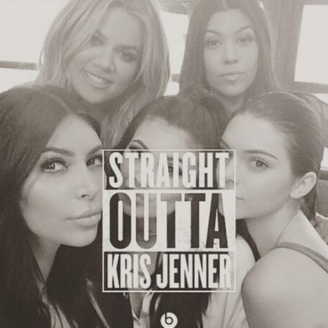 Straight Outta Kris Jenner!