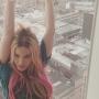 Madonna Pink Hair
