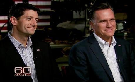 Paul Ryan, Mitt Romney on 60 Minutes