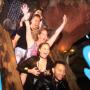 Chrissy Teigen Grabs Boobs on Splash Mountain