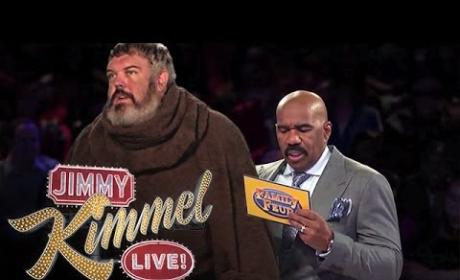 "Game of Thrones' Hodor on Family Feud: Survey Says ""Hodor!"""