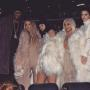 Lamar Odom and The Kardashians at Kanye West's Fashion Show