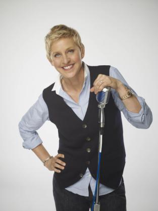 Ellen as a Judge