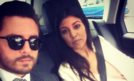 "Kourtney Kardashian and Scott Disick: Back Together ... For Sake of ""Keeping Up"" Ratings?!"