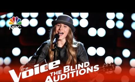 Sawyer Fredericks on The Voice