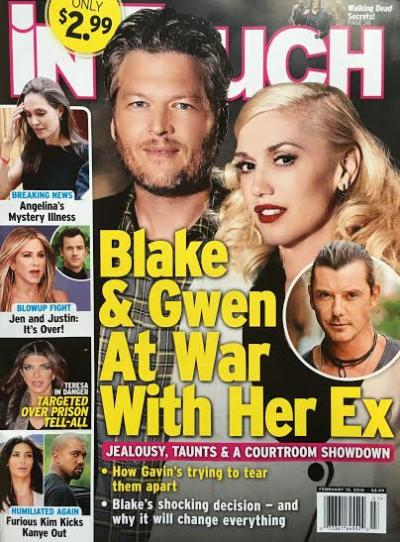 Gwen Stefani and Blake Shelton: At War With Her Ex