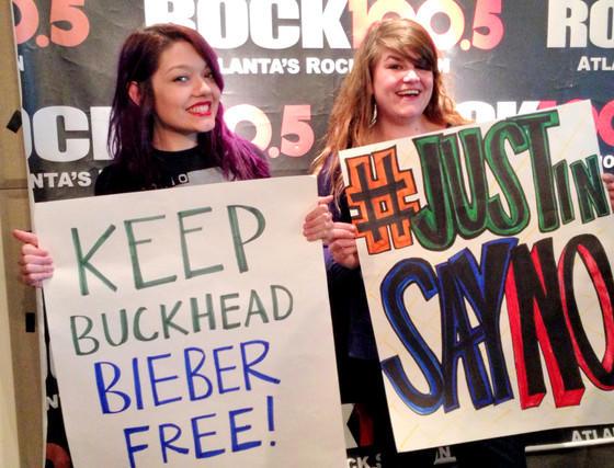 Bieber Protest Prank