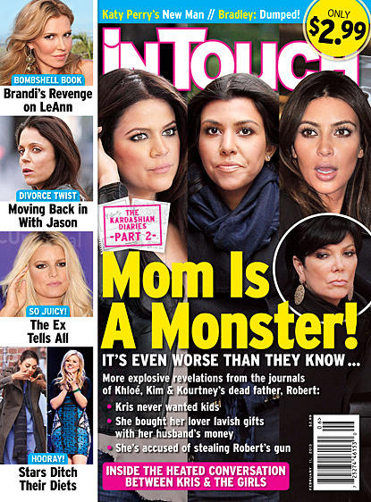Kardashian Tabloid Hate