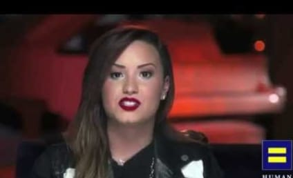 Demi Lovato Pushes for Gay Marriage: All Love is a Gift...