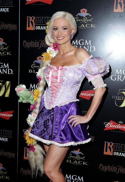 Holly Madison on Halloween