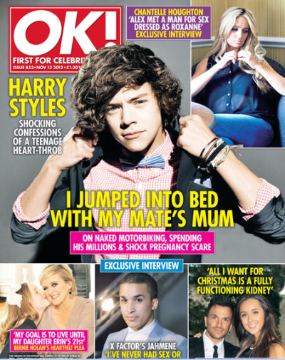 Harry Styles OK! Cover