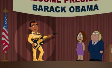 Barack Obama Comes to Family Guy