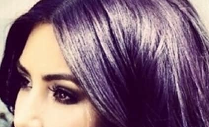 Kim Kardashian Rocks Nose Ring, Purple Hair In Latest Weird Selfie