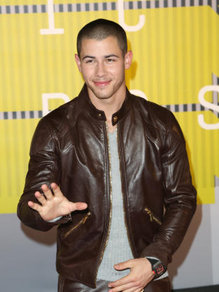 Nick Jonas at the VMAs