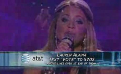 "Lauren Alaina's ""The Climb"": Better Than Miley?"