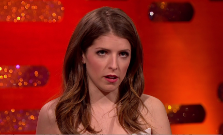Anna Kendrick Looking Unimpressed