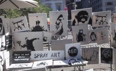 Banksy Sells Original, Expensive Artwork for $60 in NYC