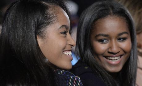 Sasha Obama: Guilty Of Underage Drinking?