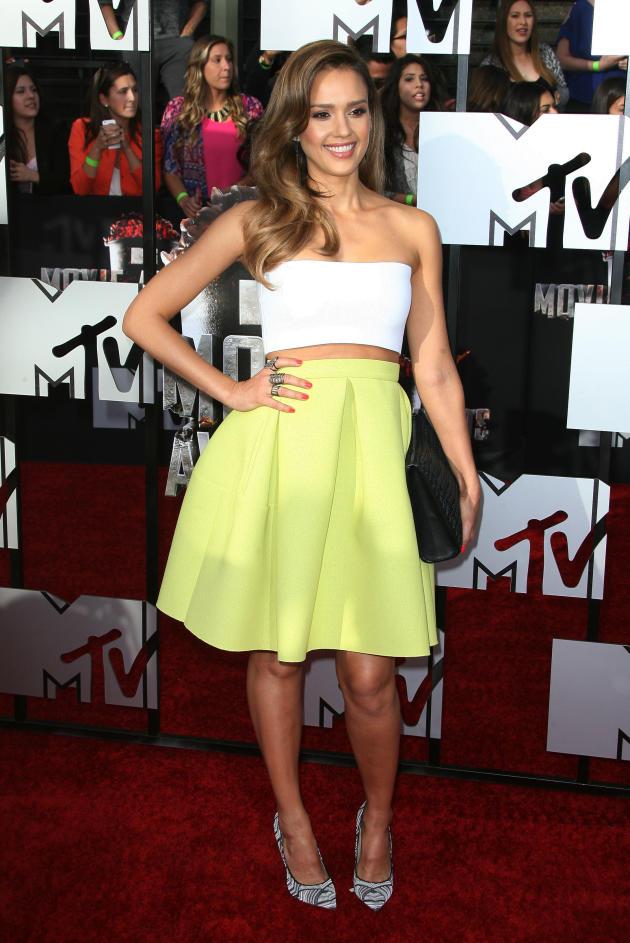 Jessica Alba at MTV Movie Awards