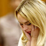 Lindsay Lohan: Sad