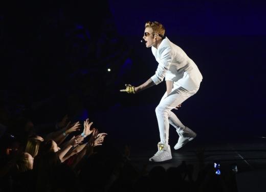 Justin Bieber in the UK