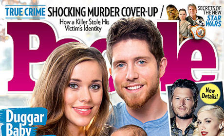 Jessa Duggar and Ben Seewald People Cover
