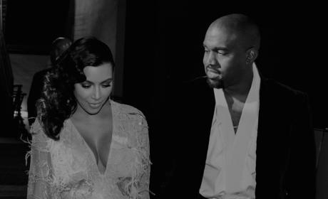 Happy Anniversary, Kim Kardashian and Kanye West!!!