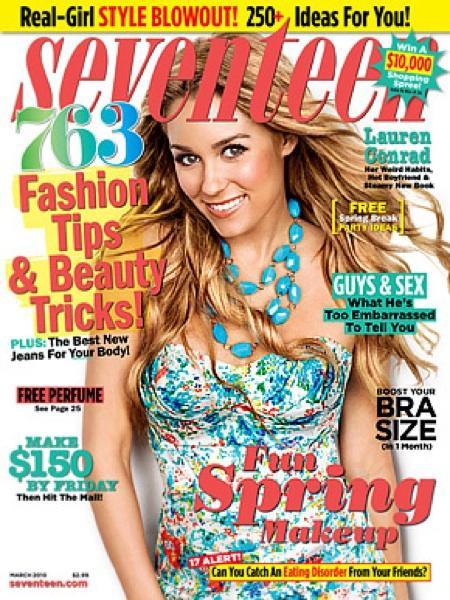 Lauren Conrad 17 Cover