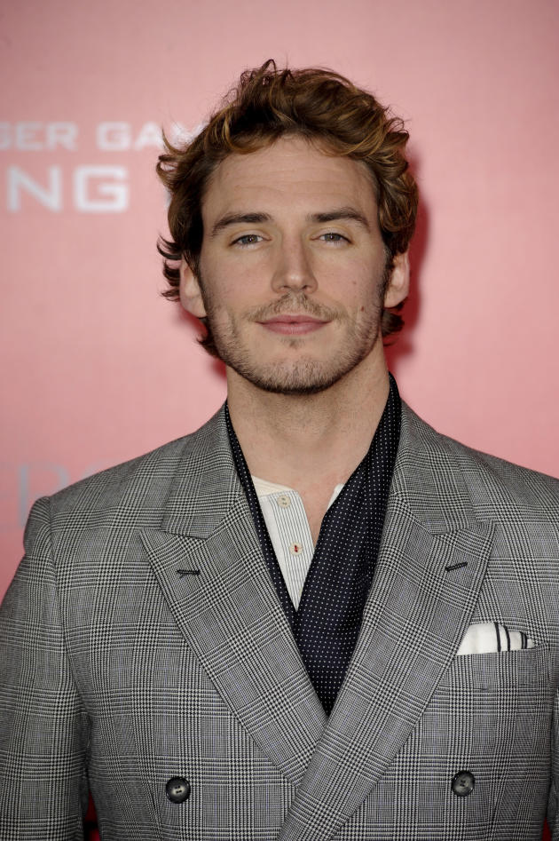 Sam Claflin at Catching Fire L.A. Premiere