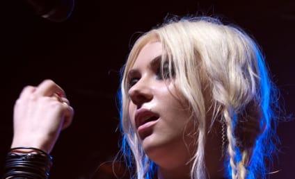Taylor Momsen Turns Heads at School Dance