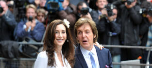 Paul McCartney and Nancy Shevell: Married!