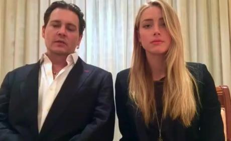 Johnny Depp & Amber Heard to Fans: Don't Be Like Us!