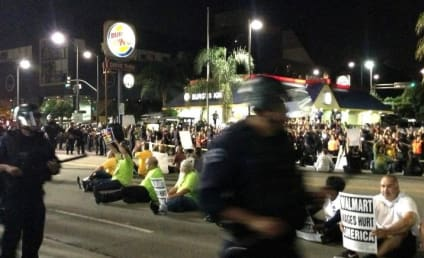 """Walmart Civil Disobedience, Protests Against """"Poverty Wages"""" Lead to Oer 50 Arrests"""