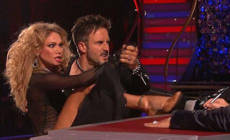Did David Arquette deserve the boot from DWTS?