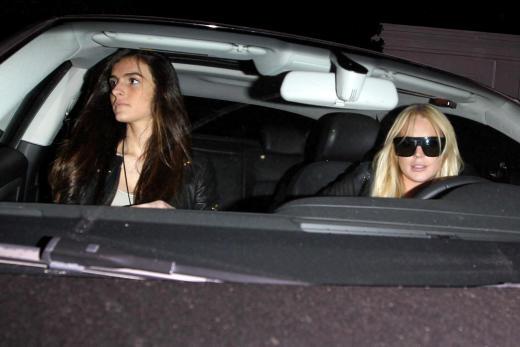 Ali, Lindsay Lohan Image