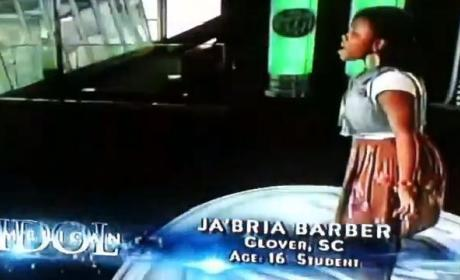 Ja'Bria Barber American Idol Audition