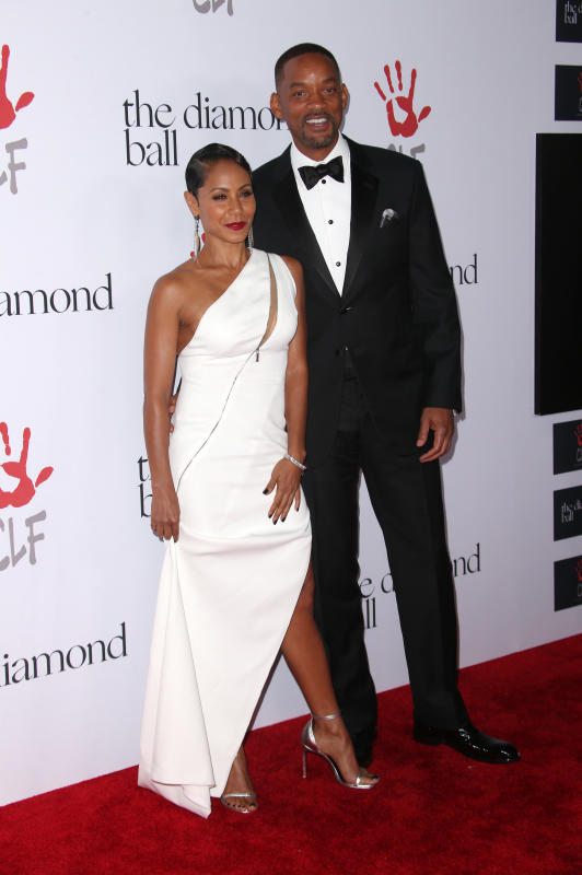 Jada pinkett smith and will smith 2nd annual diamond ball