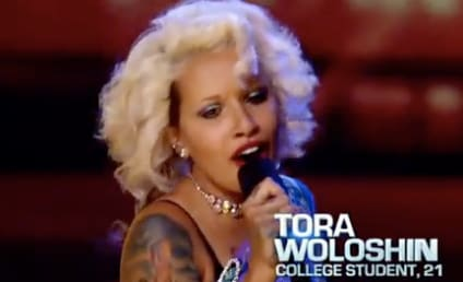 Tora Woloshin Turns The X Factor Place Out