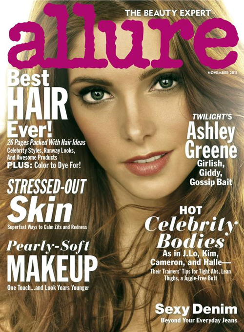 Ashley Greene Allure Cover